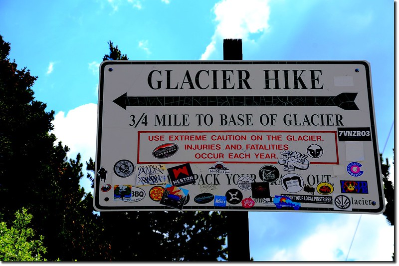 St. Mary's Glacier Trailhead