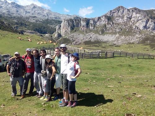 Voluntariado de ACA en los lagos de Picos de Europa