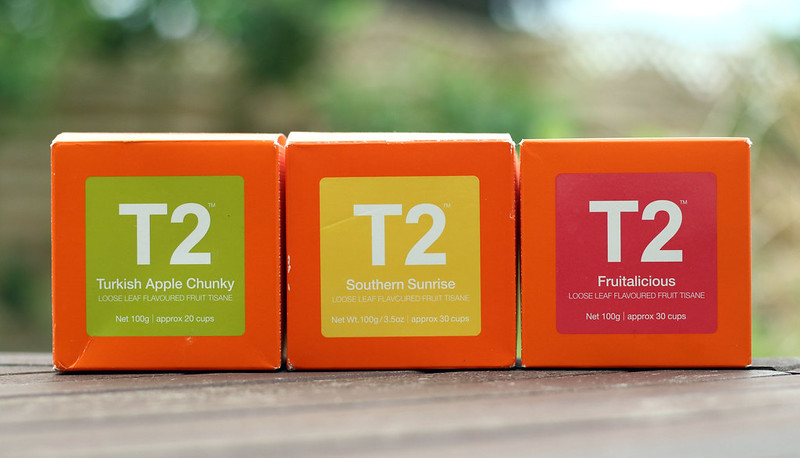 T2 3 Iced Teas