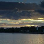 Dusk over Preston Docks