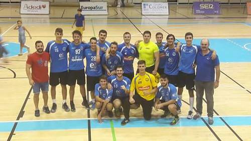 BM Montequinto BM Algeciras primera jornada de 1º División Estatal