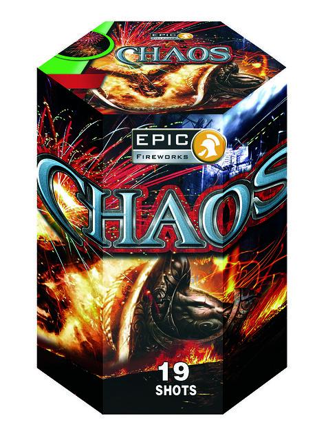 Chaos 19 Shot CE Firework Barrage #EpicFireworks