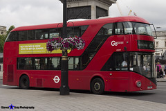 Wrightbus NRM NBFL - LTZ 1277 - LT277 - Deptford Bridge 453 - Go Ahead London - London 2017 - Steven Gray - IMG_0288