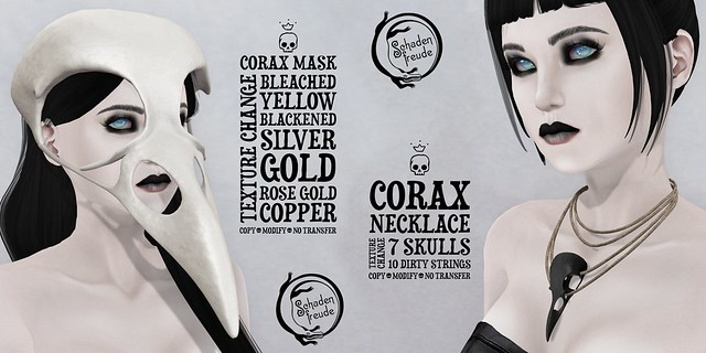 corax mask&necklace