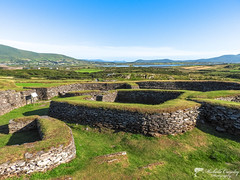 Cahergall Stone Fort. Caherciveen, Kerry