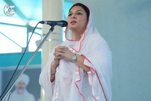 Dr. Sharan Khanna from Sant Nirankari Colony, expresses her views