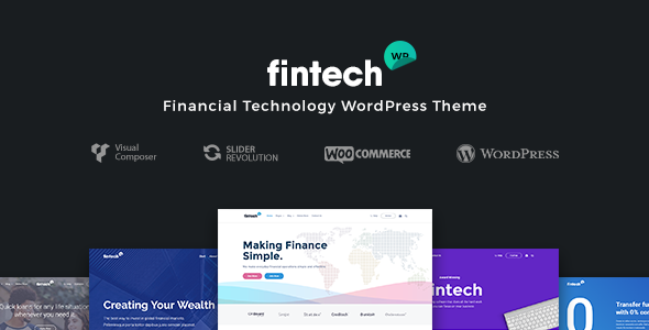 Fintech WP v1.0.8 – Financial Technology and Services