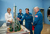 Expedition 53-54 Back Crew Members Visit the Space Museum