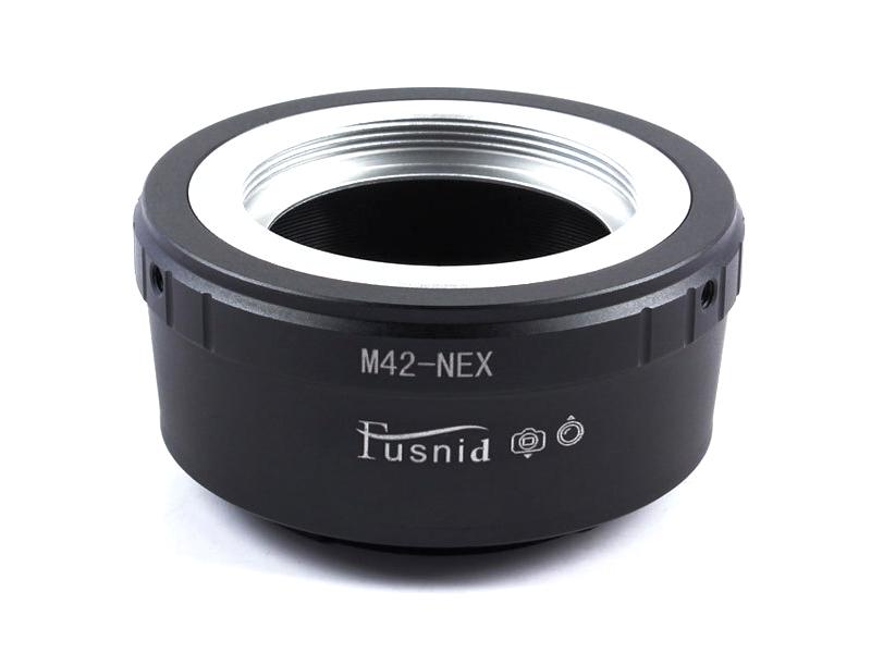 m42-nex lens adapter sony nex e fe mount camera