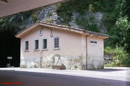 ferrocarril fcvascoasturiano asturies víaestrecha fusodelareina estaciones feve