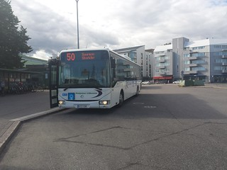 HSL Bus Route 50 in Helsinki, Finland