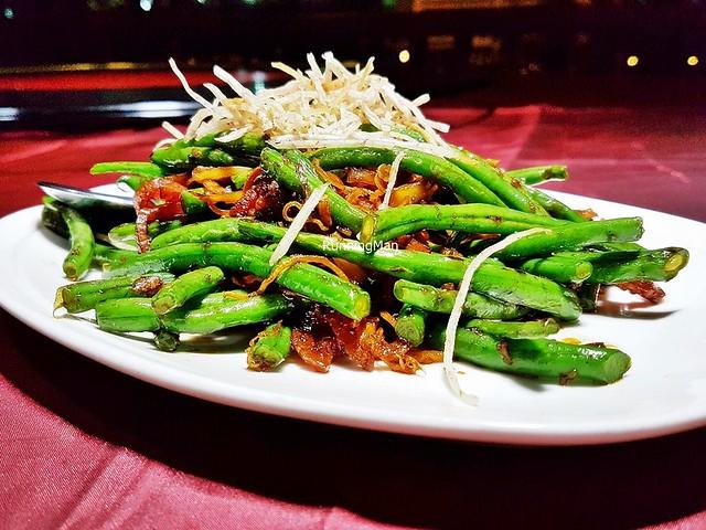 Stir-Fried Fine Beans & Crispy Shredded Yam