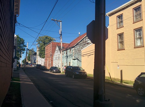 Looking east on King Street at Queen, Charlottetown #pei #princeedwardisland #charlottetown #kingstreet #queenstreet