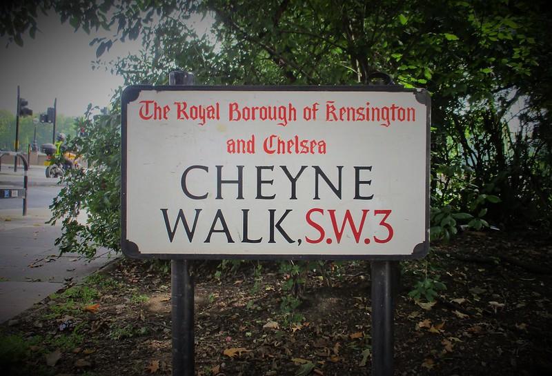 Cheyne Walk SW3