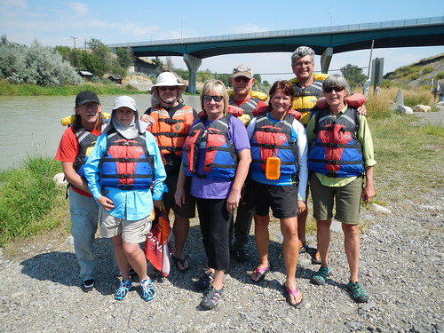 Cody Rafting group