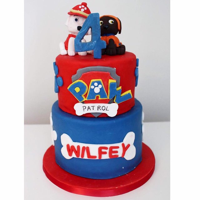 Paw Patrol Cake from Sophie Sowter of SweetTreats by Sophie