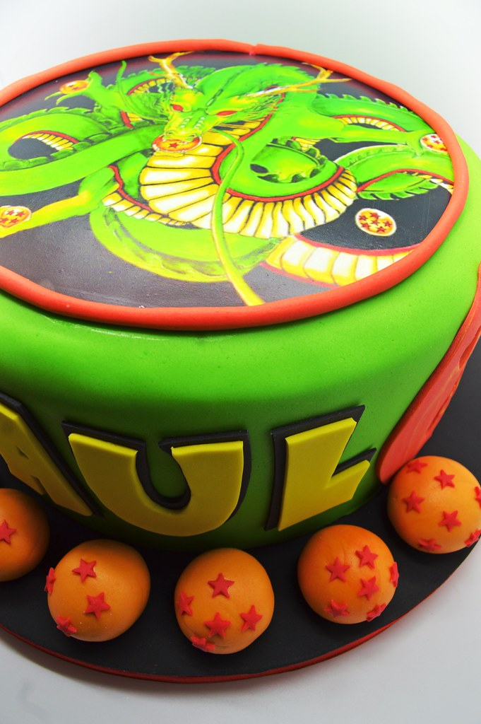 Dragon Ball Z Birthday Cake From Patricia Creative Cakes Brussels