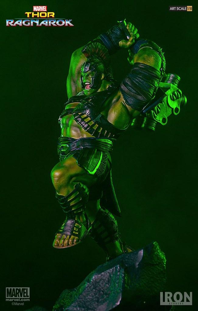 憤怒的狂暴之火!!Iron Studios Battle Diorama 系列 雷神索爾3:諸神黃昏【浩克】Thor Ragnarok Hulk 1/10 比例決鬥場景作品