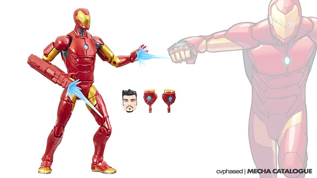 Marvel Legends Iron Man Model 51
