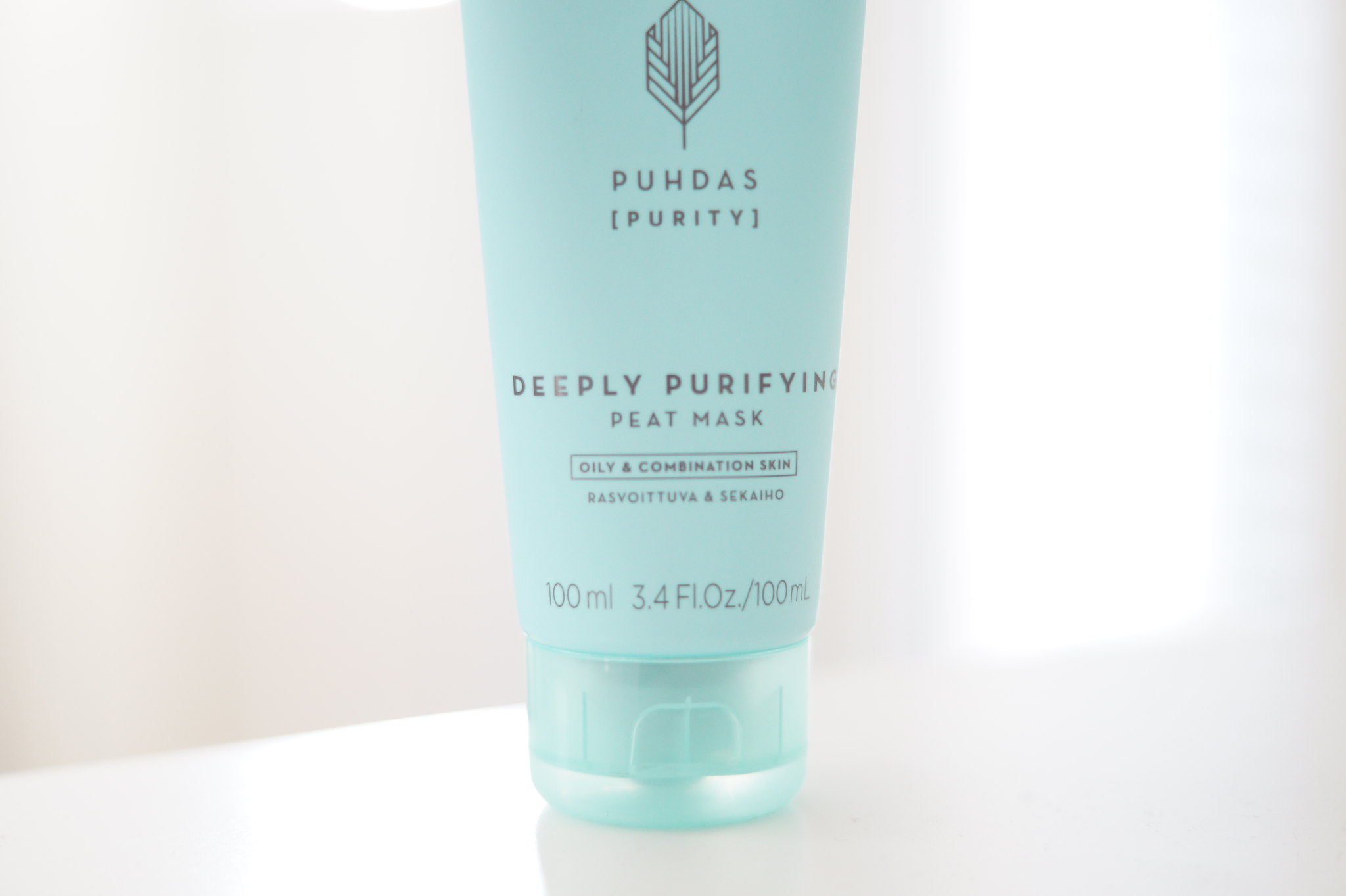 Lumene deeply purifying peat mask blogi