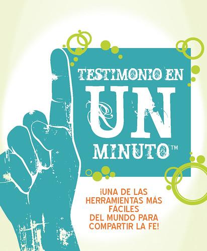 TESTIMONIO EN UN MINUTO Spanish