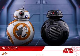 Hot Toys - MMS442 - 《星際大戰:最後的絕地武士》1/6 比例 BB-8 & BB-9E Star Wars: The Last Jedi