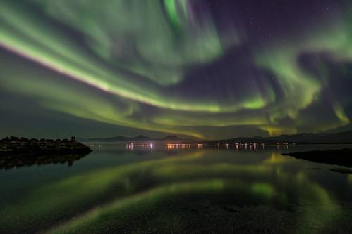 september night in Tromsø