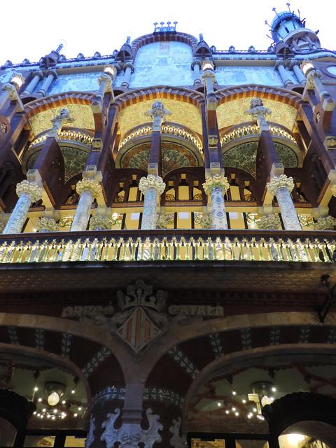 Architecture Guide To Barcelona: Palau de la Música, Barcelona, Spain