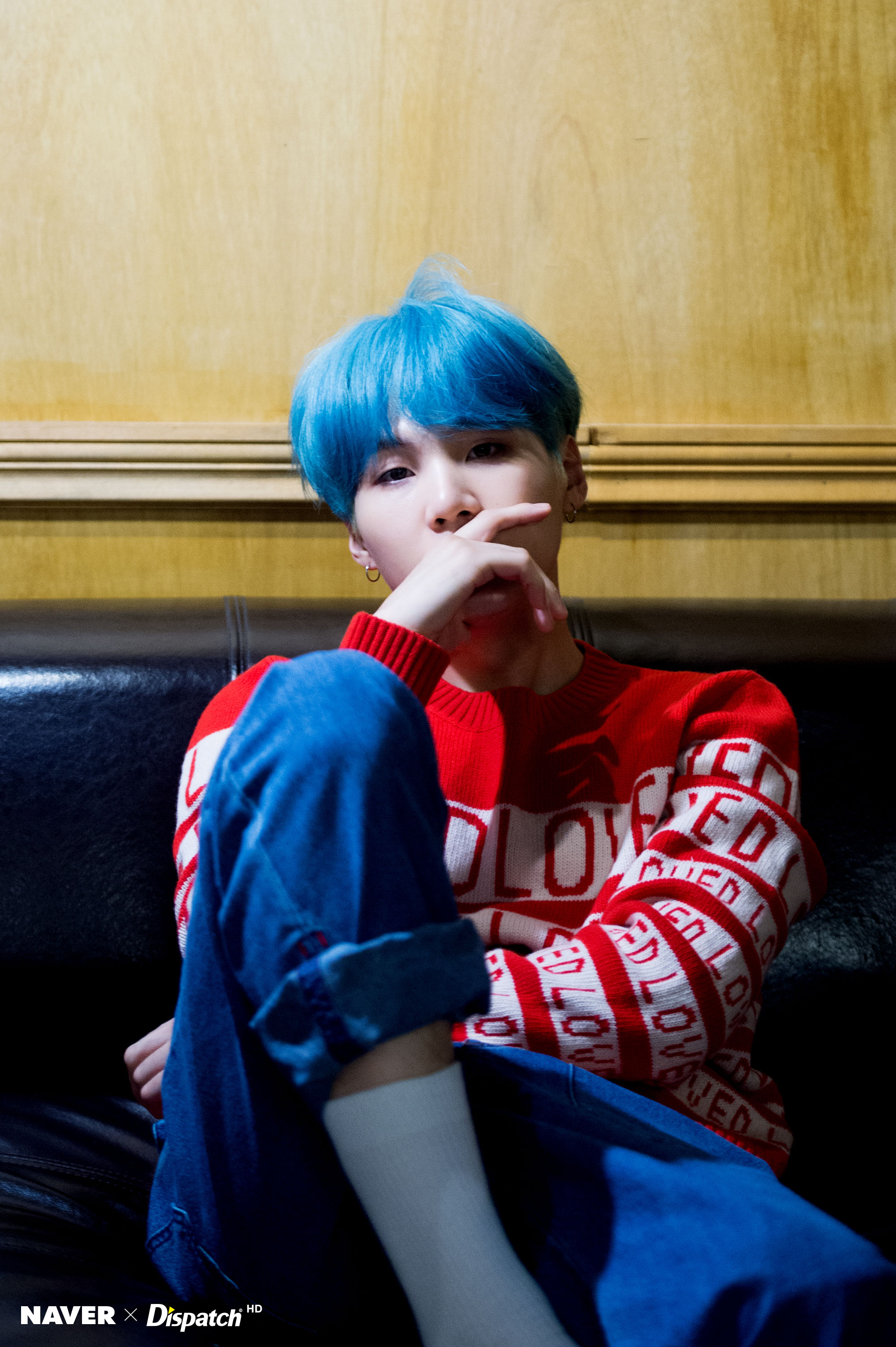 [Picture] BTS 5th Mini Album LOVE YOURSELF 承 'Her' Jacket ... Jack Frost Cosplay Jacket