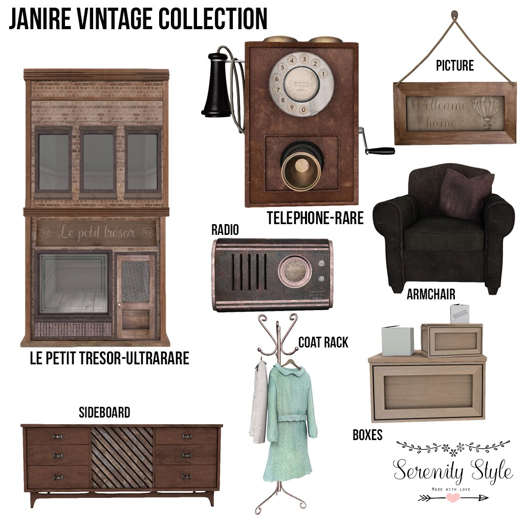Serenity Style-Janire Vintage Col. - TeleportHub.com Live!