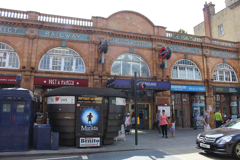 Earls Court Station, London
