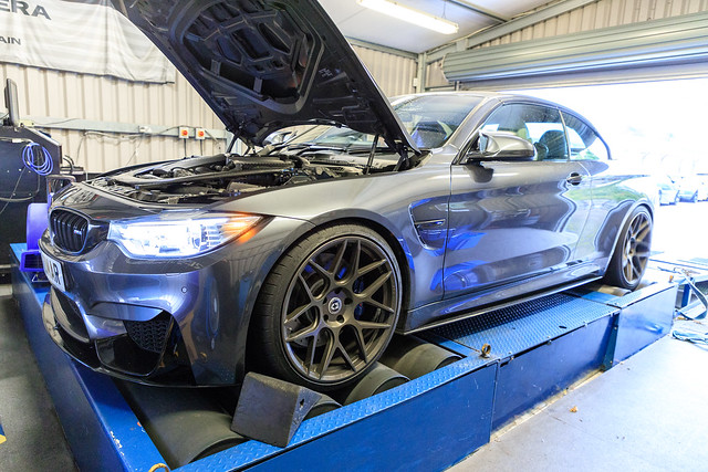 F83 M4 goes to HEX Tuning Stage 2 with DCT Tune