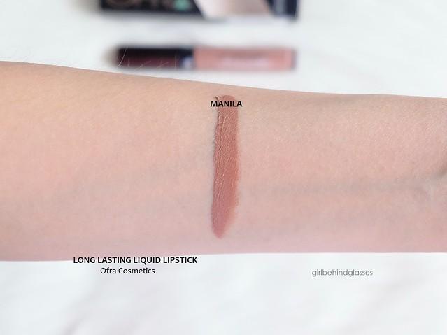 Ofra Long Lasting Liquid Lipstick Manila swatch