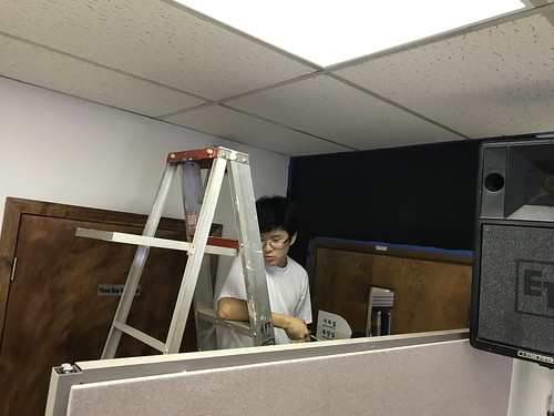 Youth room remodeling