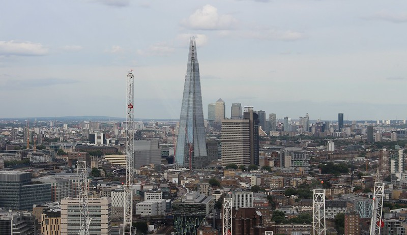 The Shard, viewed from the London Eye
