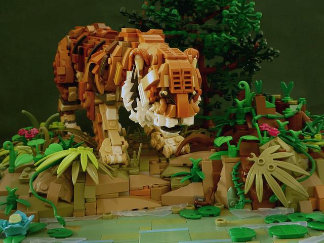 Tigre LEGO