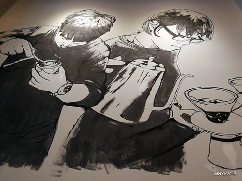 Barista Mural