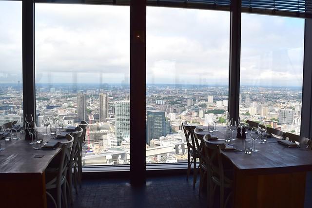 Dining Room View at Duck & Waffle | www.rachelphipps.com @rachelphipps