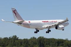 Tunis Air A330-200 TS-IFM, 29-Jul-2017
