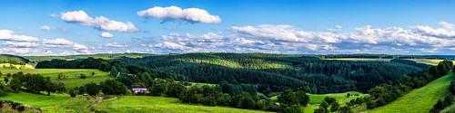 View over the Thuringia forest - Thuringia, Germany