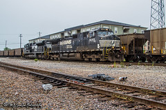 NS 9065 | GE C44-9W | BNSF Thayer South Subdivision
