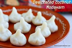 Desiccated coconut modak