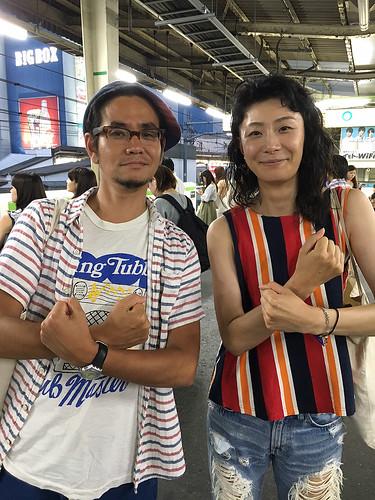 映画『MOTHER FUCKER』大石規湖(右)、川口潤監督(左) ©2017 MFP All Rights Reserved.