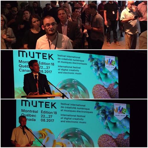 18vo festival MUTEK de Montreal