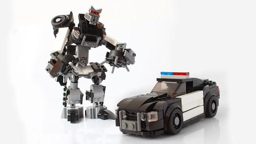 Lego Transformers Barricade
