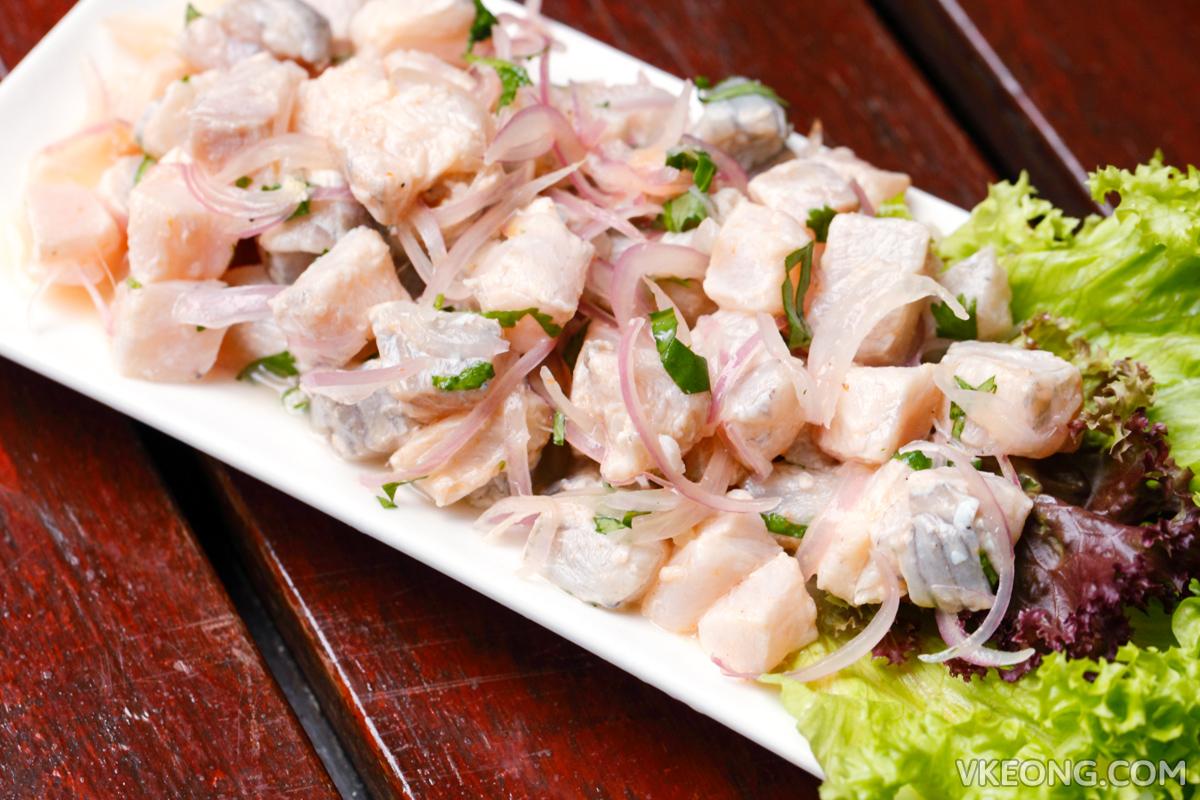 Pisco Bar Pargo Seabass Ceviche