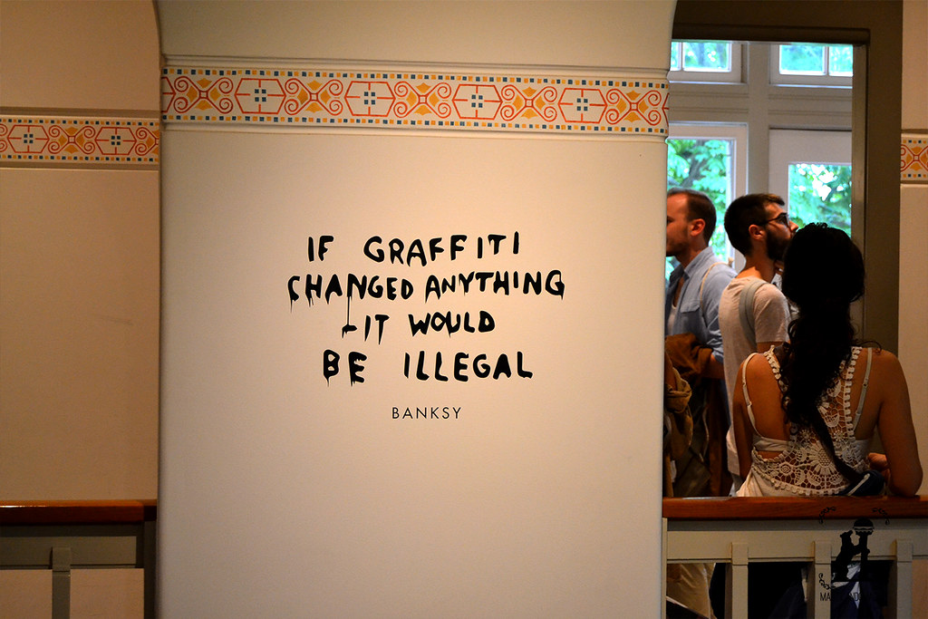 Banksy Moco Museum Ámsterdam