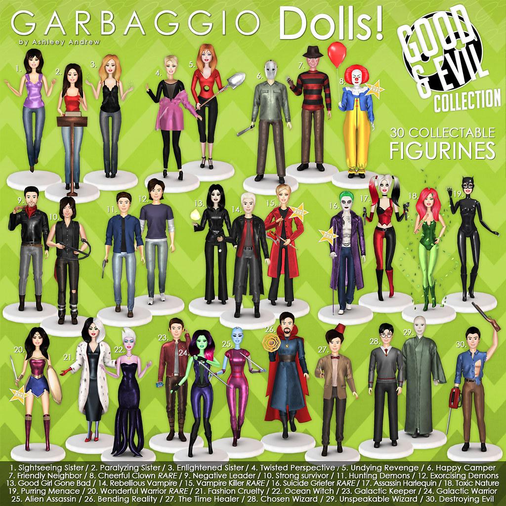 Garbaggio Dolls Good&Evil Collection Gacha Key - SecondLifeHub.com