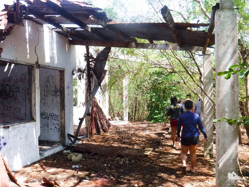 Ruins in Pescador Island