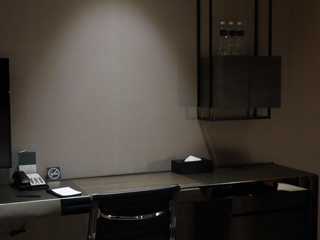 長桌的尾端有書桌@高雄喜達絲飯店
